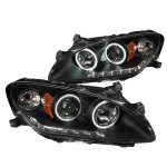 Honda S2000 2000-2003 Projector Headlights Black CCFL Halo LED DRL