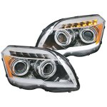 Mercedes Benz GLK 2009-2012 Chrome Projector Headlights