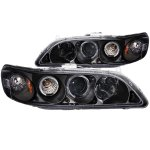 2000 Honda Accord Projector Headlights Black Halo