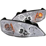 2010 Pontiac G6 Projector Headlights Chrome CCFL Halo LED