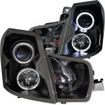 2006 Cadillac CTS Projector Headlights Black Halo