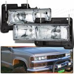 1995 Chevy Silverado Clear Euro Headlights