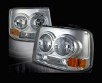 2000 Chevy Silverado Clear Euro Headlights