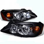 2010 Pontiac G6 Black Euro Headlights