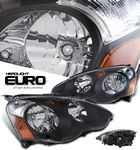 2003 Acura RSX Depo JDM Black Euro Headlights