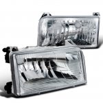 Ford F250 1992-1996 Depo Clear Euro Headlights