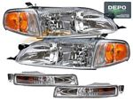 1995 Toyota Camry Depo Clear Euro Headlights