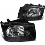 2004 VW Jetta Depo Black Euro Headlights