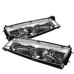 Nissan 240SX 1997-1998 Clear Euro Headlights