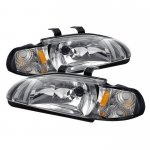 1993 Honda Civic Sedan Clear Euro Headlights