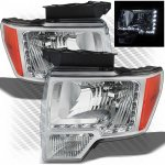 2010 Ford F150 Headlights LED DRL