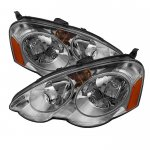Acura RSX 2002-2004 Clear Euro Headlights