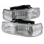 2005 Chevy Tahoe Clear Euro Headlights