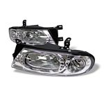 Nissan Altima 1993-1997 Clear Euro Headlights