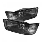 Ford F250 1992-1996 Smoked Euro Headlights with LED