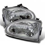 1996 Honda Del Sol Clear Euro Headlights