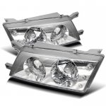 Nissan 200SX 1995-1998 Clear Halo Euro Headlights with LED