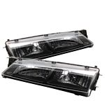 1997 Nissan 240SX Black Euro Headlights