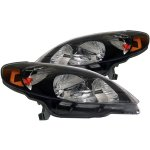 2005 Toyota Matrix Black Euro Headlights