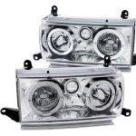 1996 Toyota Land Cruiser Clear Euro Headlights Halo