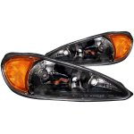 2005 Pontiac Grand AM Black Euro Headlights