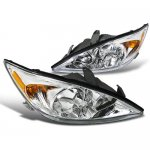 Toyota Camry 2002-2004 Chrome Custom Headlights