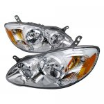 2007 Toyota Corolla Chrome Custom Headlights