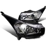 2012 Chevy Cruze Black Custom Headlights