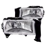 2002 Dodge Durango Chrome Euro Headlights