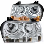2008 Chrysler 300 CCFL Halo Headlights Chrome