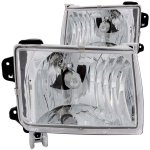 Nissan Frontier 1998-2000 Chrome Headlights