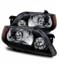 Mazda Protege 2001-2003 Black Euro Headlights