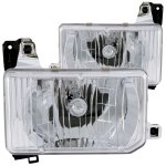 Nissan Pathfinder 1987-1995 Chrome Headlights
