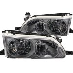 Toyota Corolla 1993-1997 Black Headlights