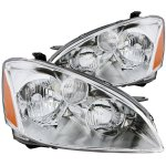Nissan Altima 2002-2004 Chrome Headlights