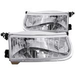 Ford Explorer 1995-2001 Crystal Headlights Chrome
