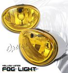 2000 Plymouth Voyager Yellow OEM Style Fog Lights