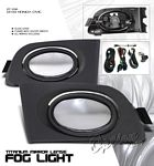 Honda Civic 2001-2003 Smoked OEM Style Fog Lights