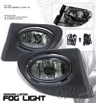 2005 Honda Civic Si Smoked OEM Style Fog Lights Kit