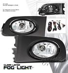 2002 Honda Civic Clear OEM Style Fog Lights