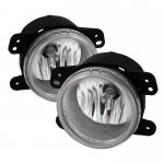 2009 Jeep Wrangler Clear Fog Lights Kit