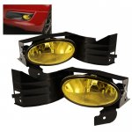 2008 Honda Accord Coupe Yellow OEM Style Fog Lights