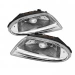 Mercedes Benz M Class 1998-2005 Clear OEM Style Fog Lights