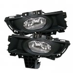 Mazda 3 Sedan 2007-2008 Clear OEM Style Fog Lights