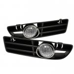 2004 VW Jetta Clear OEM Style Fog Lights