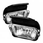 2005 Chevy Avalanche Clear OEM Style Fog Lights