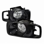 Honda Civic 1999-2000 Clear Fog Lights Kit