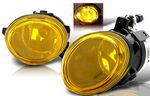 2003 BMW E46 3 Series Yellow OEM Style Fog Lights