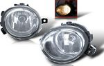 BMW E46 3 Series 2001-2005 Clear OEM Style Fog Lights