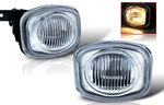 2001 Mitsubishi Eclipse Clear OEM Style Fog Lights